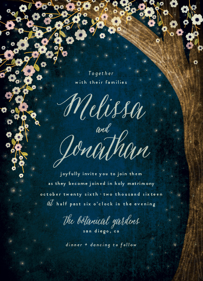 wedding invitations - outside by Rebecca Bowen