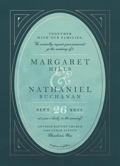 wedding invitations - Buchanan by Keen Peachy