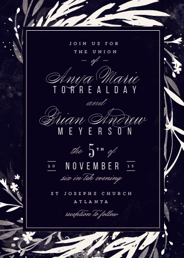 wedding invitations - Swoon by Lori Wemple