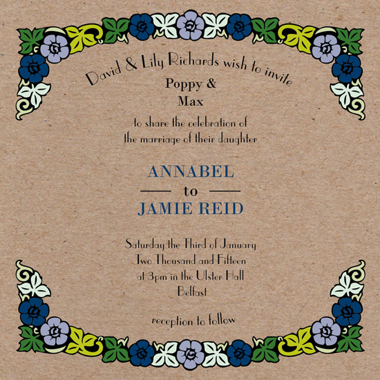 wedding invitations - Blossom & Bloom Wedding Invitation by Ink and Other
