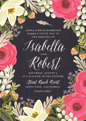 wedding invitations - Rhapsody by Griffinbell Paper Co.
