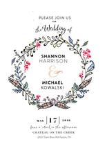 Rustic Floral Wreath by youmewheee