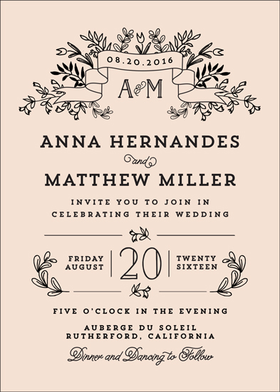 wedding invitations - Wedding Bouquet by Chris Griffith