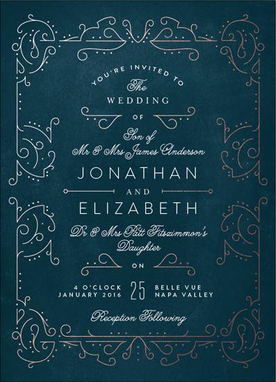 wedding invitations - Dainty Deco by Phrosne Ras