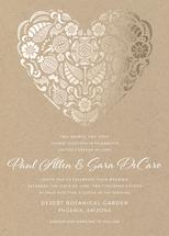 Suzani Heart by Sarah Dickson