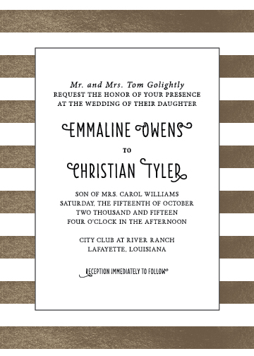 wedding invitations - Twinkle Twinkle by Valerie Woerner