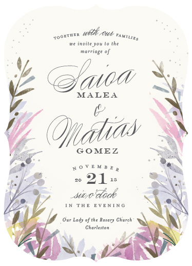 wedding invitations - Jardin by Lori Wemple