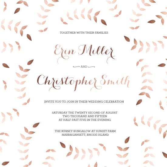 wedding invitations - Blushing Bride by Ashley Driscoll