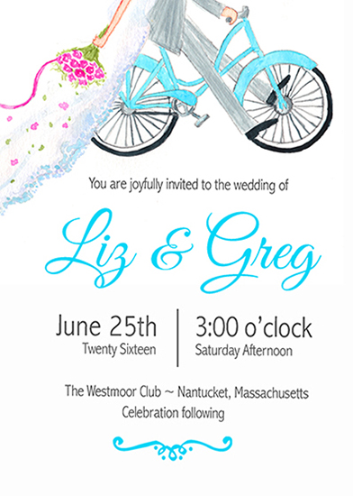 wedding invitations - Wedding Bliss by Valerie Hart
