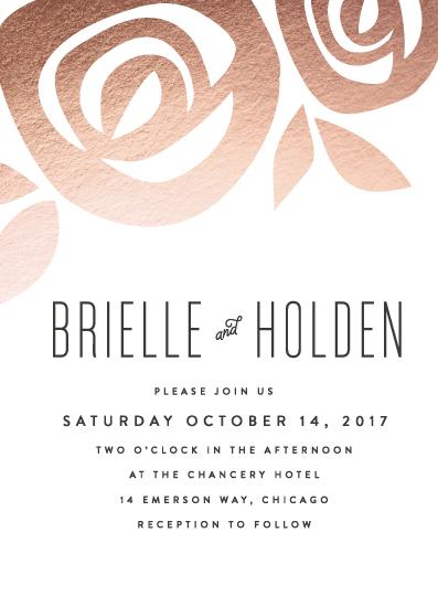 wedding invitations - Flora Grande by Melanie Severin