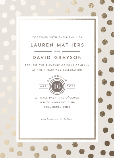 wedding invitations - Devoted by Oscar & Emma