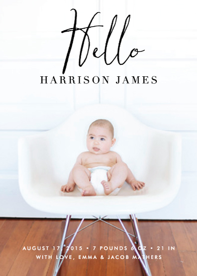 birth announcements - Styling Hello by Lehan Veenker