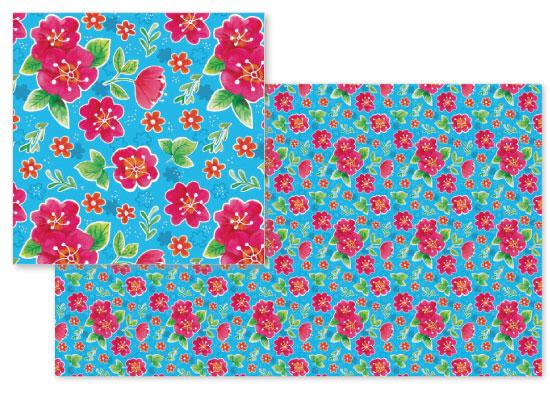 fabric - flower garden by jody-claire
