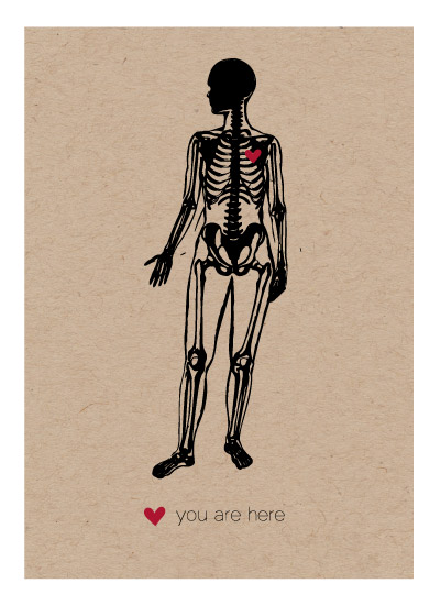 art prints - You Are Here by Lauren A