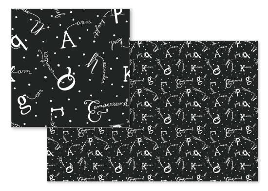 fabric - Typographic Anatomy by Jessie Katz
