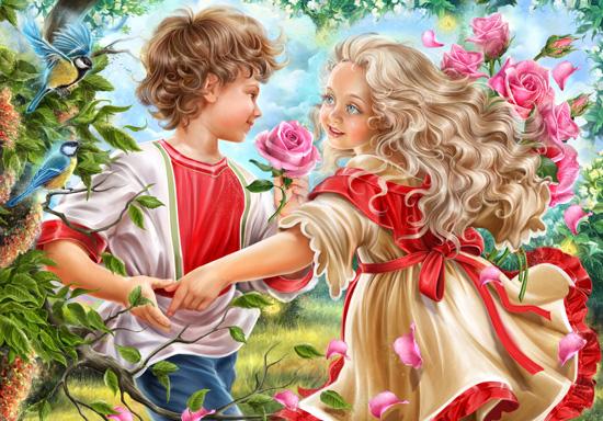 art prints - Little love by Alla Look