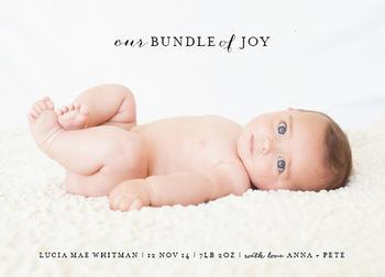 Our Bundle of Joy