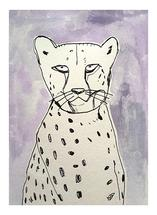 Pastel Cheetah by June Chang