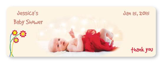 stickers - Baby shower by Akanksha abhay