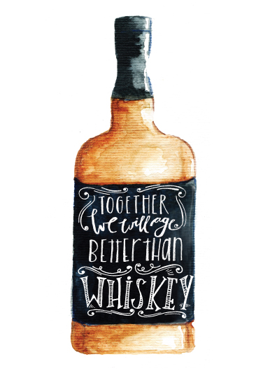 art prints - Better than whiskey by Lulaloo