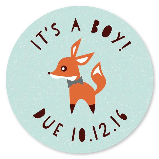 stickers - Little Fox by Olivia Raufman