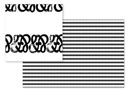 fabric - Ampersand Stripes by Jessie Katz