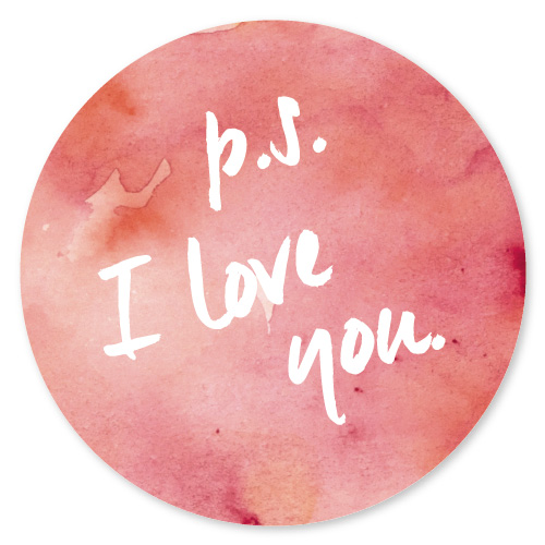 stickers - P.S. I love you by Becca Thongkham