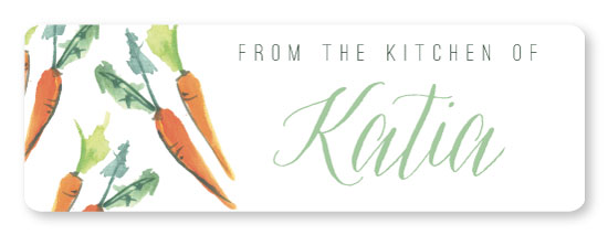 stickers - Carrot Kitchen by Makewells