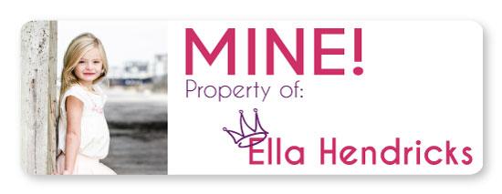 stickers - Mine by Ella Weaver