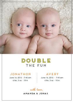 Double The Fun!