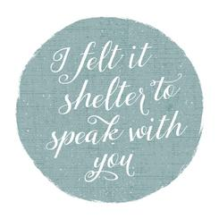 Shelter With You