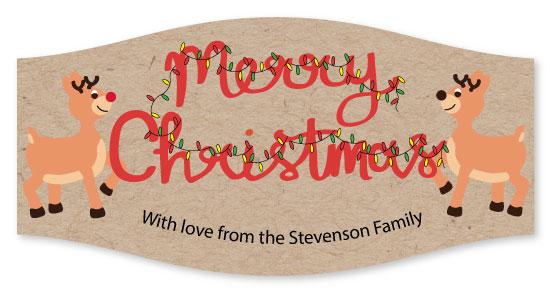 stickers - Reindeer's Merry Christmas by Tarryn Lee