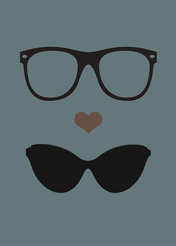 art prints - geek loves chic by Ena Chahal