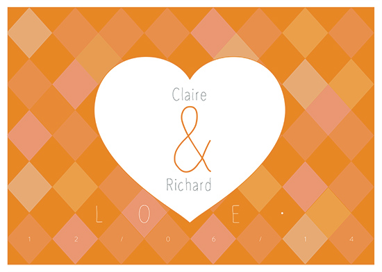 art prints - Geometric Love by Chiara Girardelli
