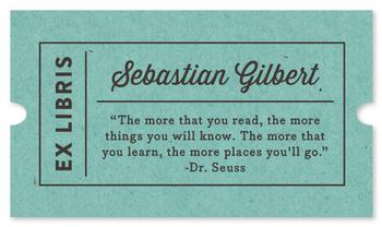 Quotable Bookplate