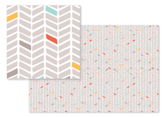fabric - Chevron by Olive and Me Studios