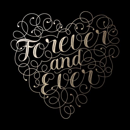 art prints - Flourished Forever Heart by Sam Dubeau