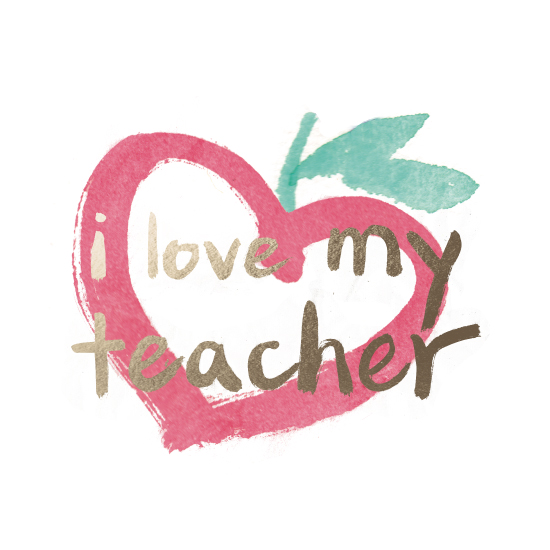 art prints - i love my teacher by Qing Ji