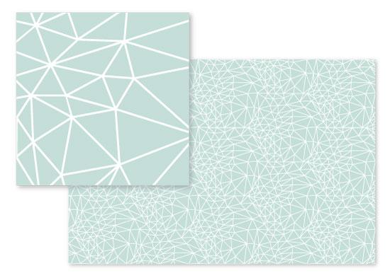 fabric - Geometric Net by Cindy Lackey