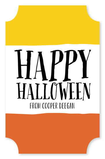 stickers - Candy Corn Too by Erin Deegan