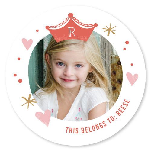 stickers - Princess by Carolyn MacLaren