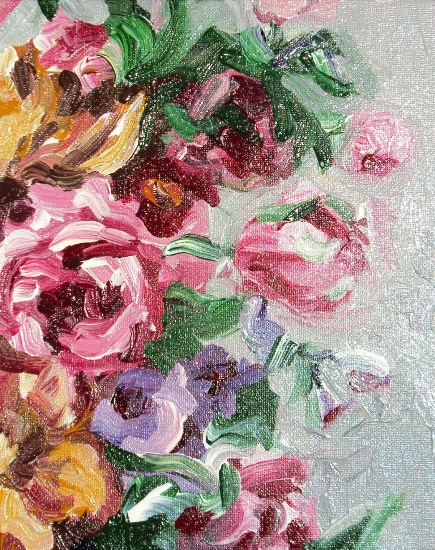art prints - Impressionist Bouquet by Drihana Burger