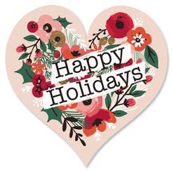 Happy Holidays Flora