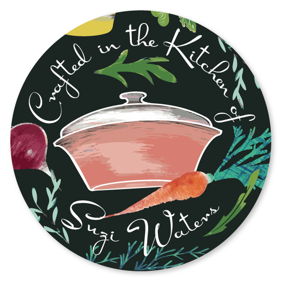 stickers - The Kitchen Crafter by Sabrina Hoeke