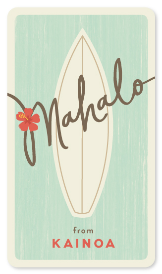 stickers - surf mahalo by Guess What Design Studio