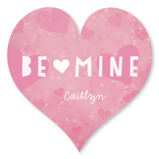 stickers - valentine button by shoshin studio