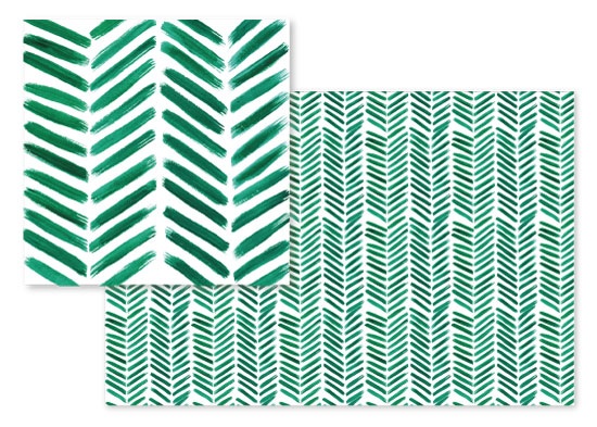 fabric - Brushed Chevron by Itsy Belle Studio