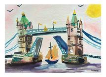 London Bridge by June Chang
