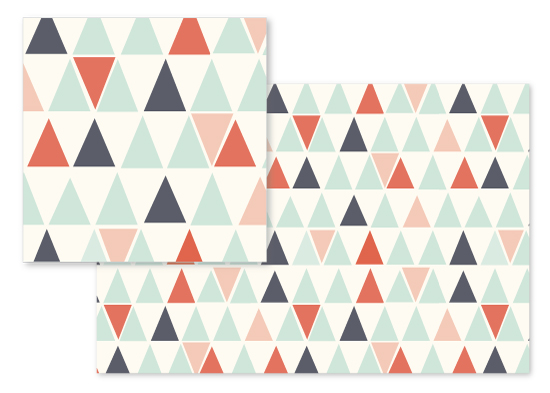 fabric - Little Pyramids by Sharon O.