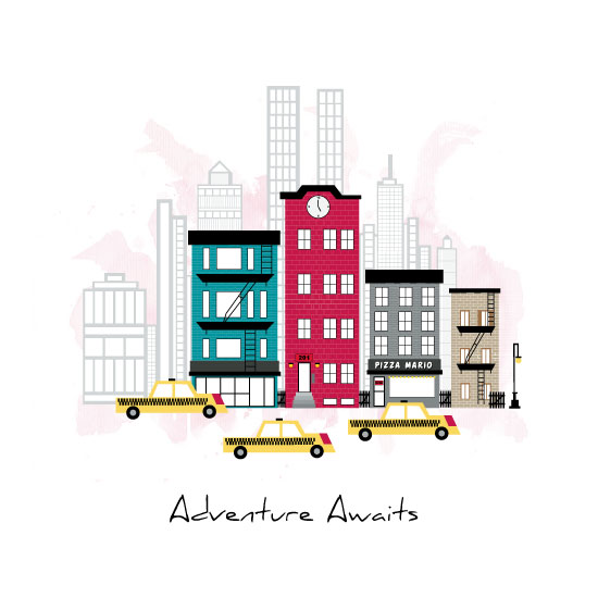 art prints - Adventure Awaits by Amber Moak